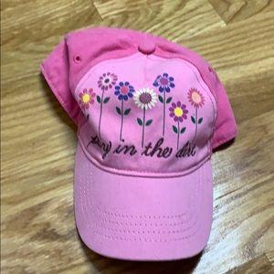 John Deere toddler girls baseball hat